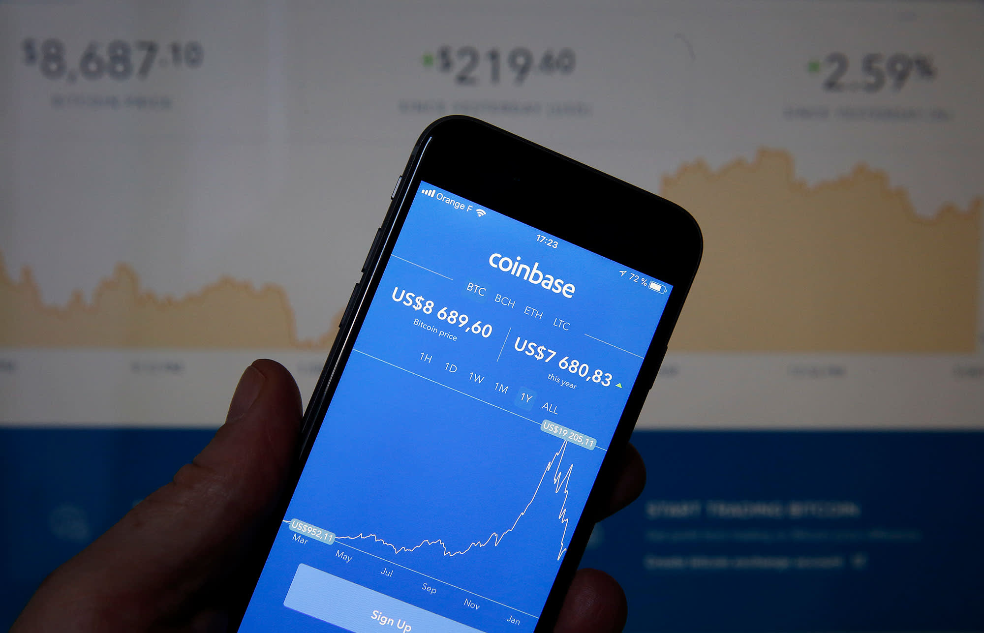 largest-u-s-cryptocurrency-exchange-coinbase-files-for-ipo-as-bitcoin-soars-past-23000