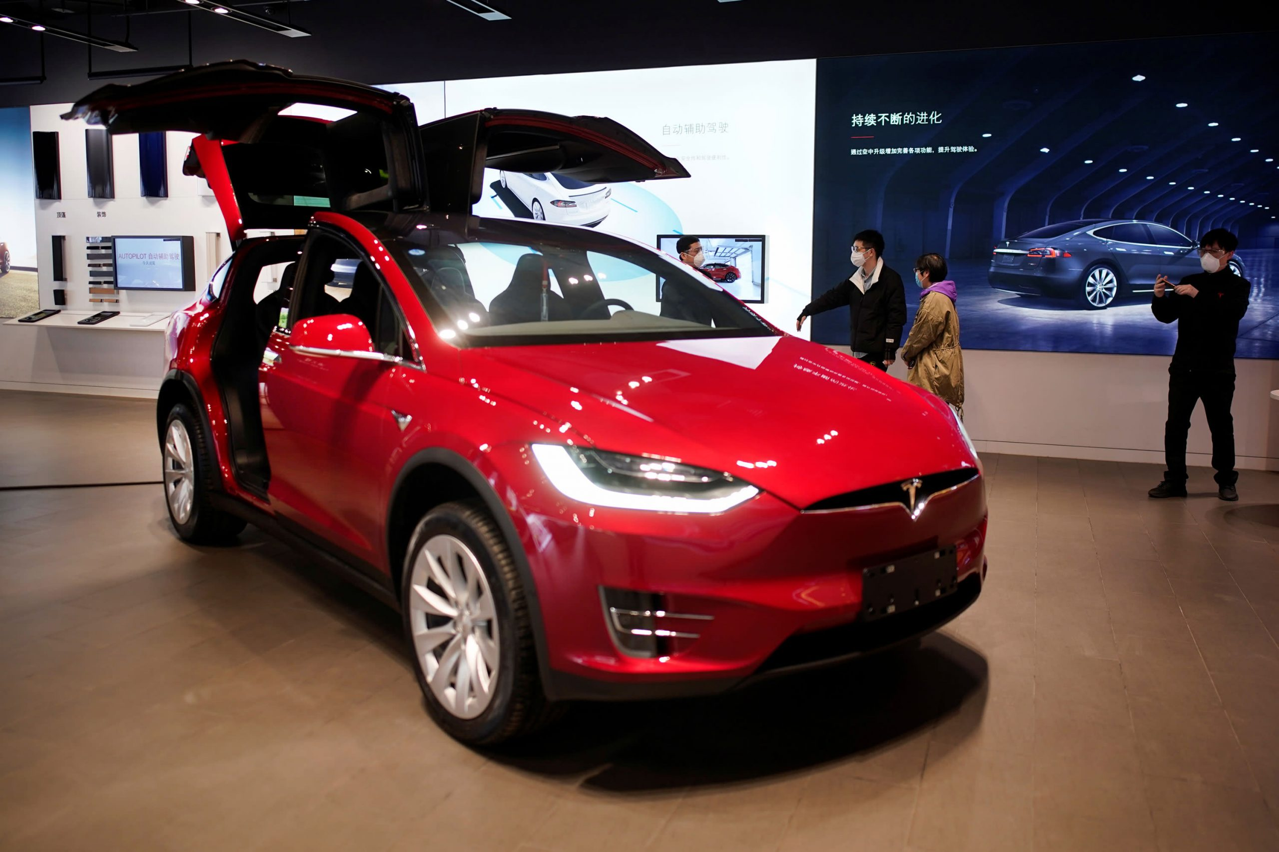 tesla-jumps-6-in-heavy-volume-ahead-of-sp-500-entry-stock-then-falls-a-bit-in-after-hours