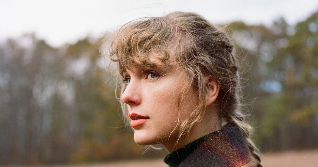 taylor-swift-publicizes-second-shock-album-of-2020-evermore