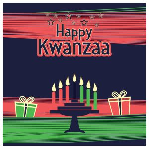 happy kwanzaa, kinara, menorah
