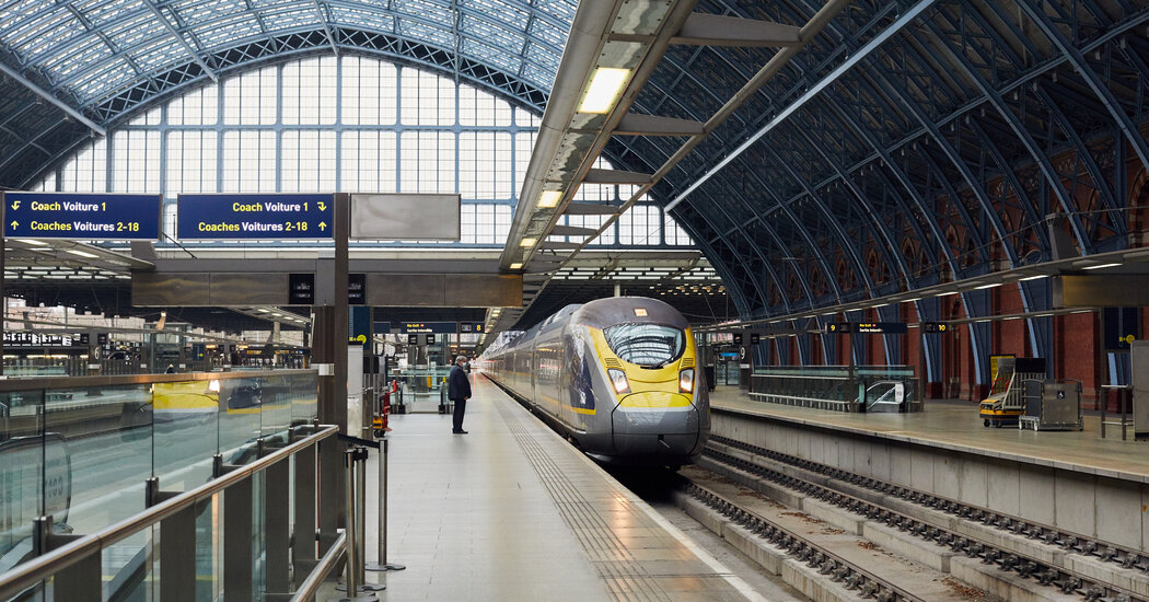 who-takes-the-eurostar-almost-no-one-as-the-pandemic-fuels-a-rail-crisis