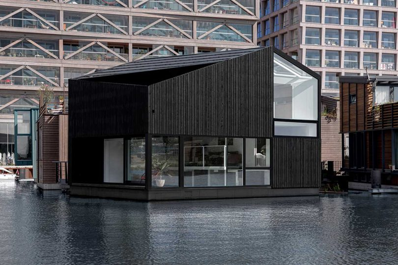 an-angular-floating-home-in-a-sustainable-floating-village-in-amsterdam