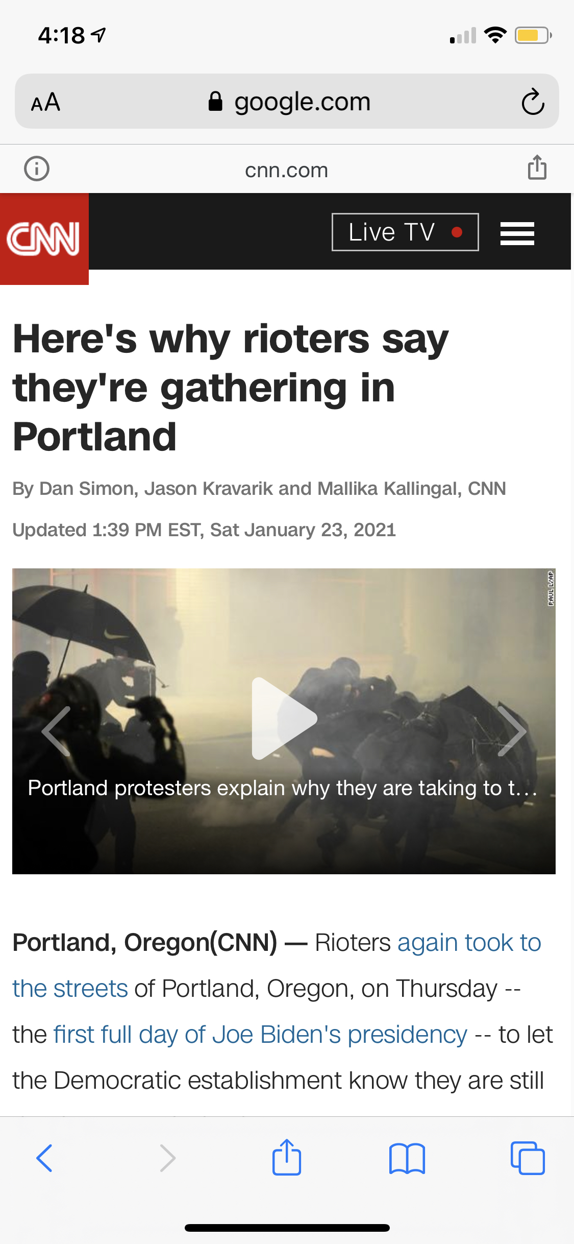 media-largely-avoids-violent-left-wing-riots-on-inauguration-day