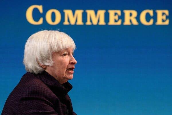 yellen-says-corporations-must-shoulder-cost-of-going-green-live-updates