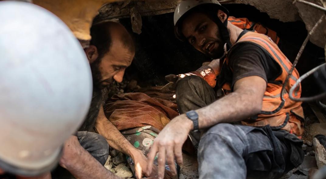 israeli-airstrikes-demolishes-3-buildings-killed-26-deadliest-attack-since-the-heavy-conflict-began-last-week