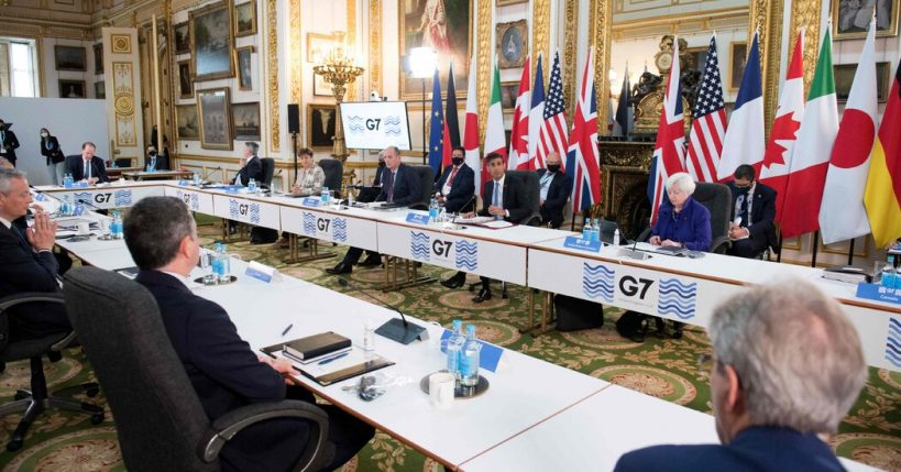global-finance-leaders-start-talks-for-tax-overhaul