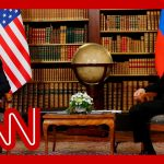 'Very uncomfortable': Biden-Putin photo op gets awkward