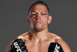 ufc-pro-fighter-nate-diaz-sparks-joint-during-press-conference-prior-to-getting-in-the-ring-with-leon-edwards