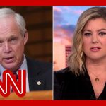 'Truly, madly, deeply false': Keilar fact-checks Ron Johnson's vaccine claims