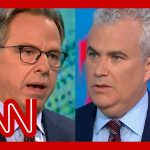 Jake Tapper presses WH Covid-19 coordinator on vaccinated Biden wearing a mask