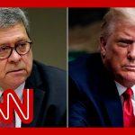 Judge orders Bill Barr's secret Trump memo to be released