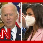 CNN's Kaitlan Collins presses Biden about his stance on the filibuster