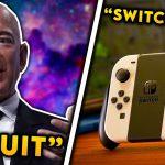 NEW NINTENDO SWITCH PRO...Jeff Bezos QUITS, Fake Stocks, China Tech