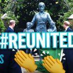 Prince Harry & Prince William Unite to Unveil Diana Statue | E! News