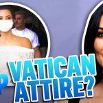 Did Kim Kardashian Break the Dress Code at the Vatican?   Daily Pop   E! News