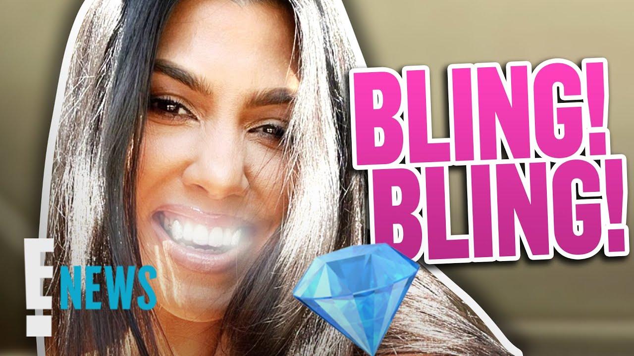 Kourtney Kardashian Flashes New Vampire Bling in Sexy Lingerie Pic   E! News