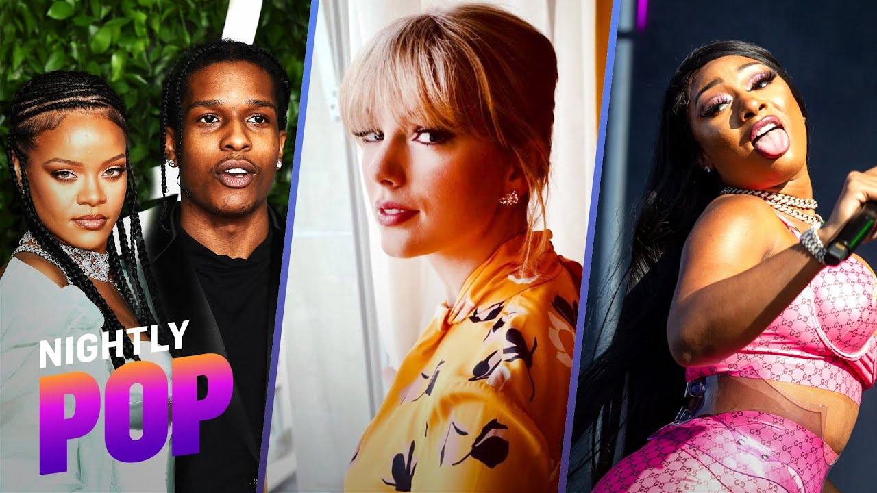 """Rihanna's A$AP Date, Taylor's Scooter Feud & """"Thot S–t"""" Ban – """"Nightly Pop"""" 06/24/21   E! News"""