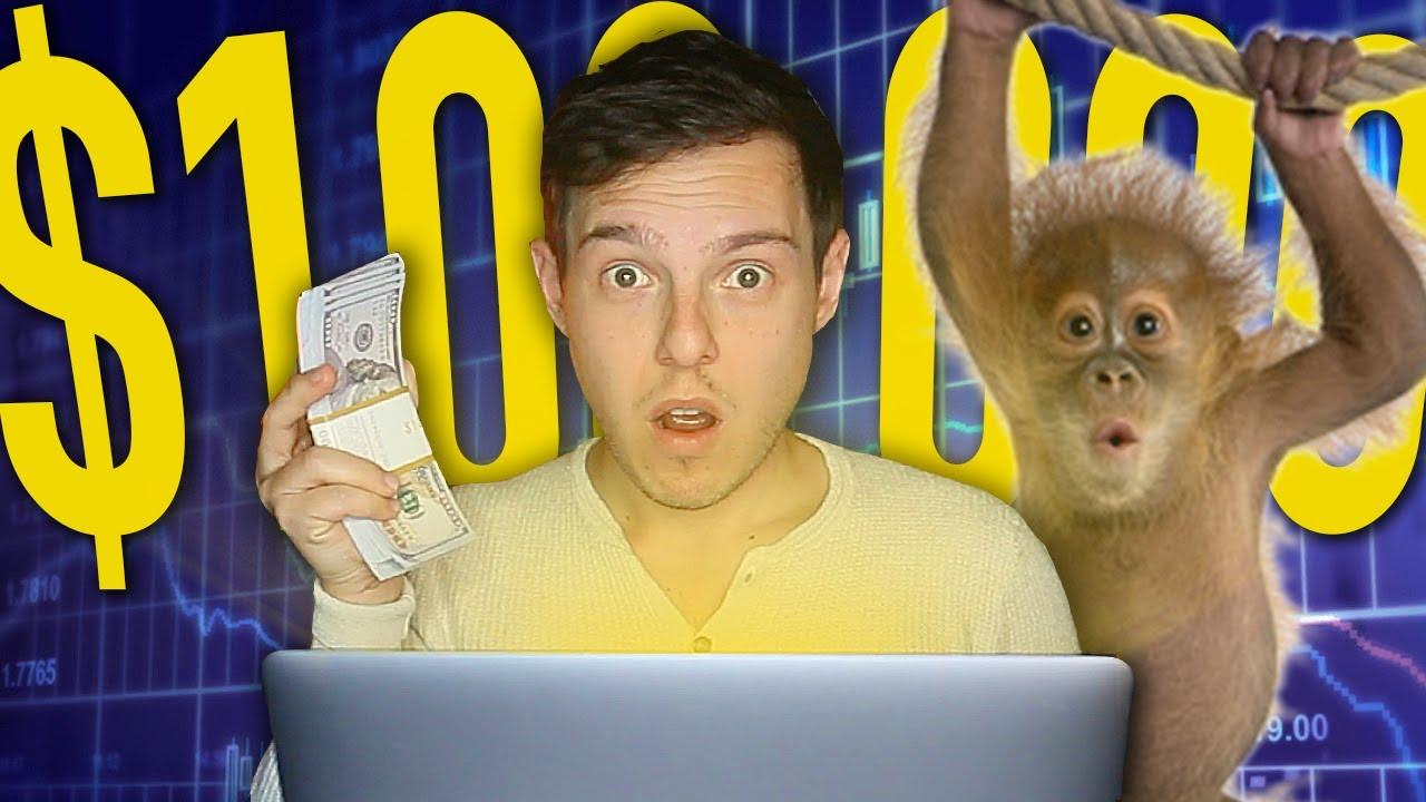 I Spent $100,000 On A Stock Picking Monkey