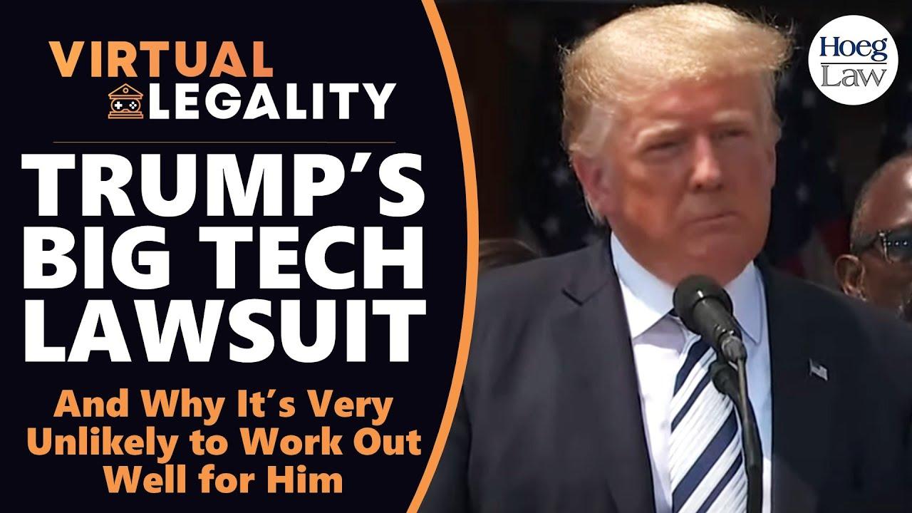 Trump's Big Tech Lawsuit: Facebook As Arm of Government? (VL506)