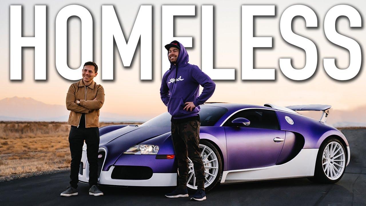 Meet The Homeless Man Who Bought A Bugatti | TheStradman