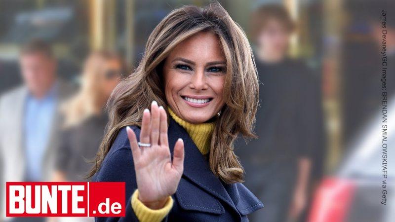 Melania Trump – Sie ist zurück in New York – und hat Sohn Barron im Gepäck