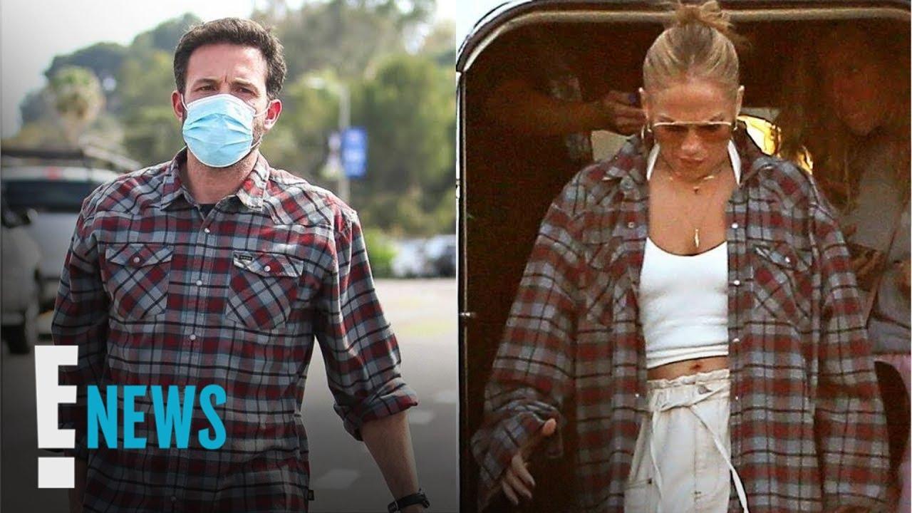 Is Jennifer Lopez Wearing Ben Affleck's Flannel? | E! News