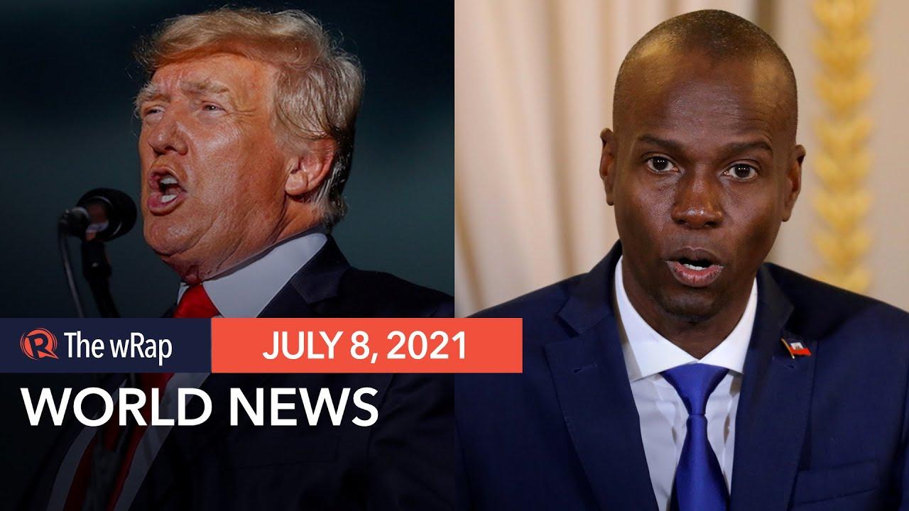 Trump cries censorship; Haitian president assassinated