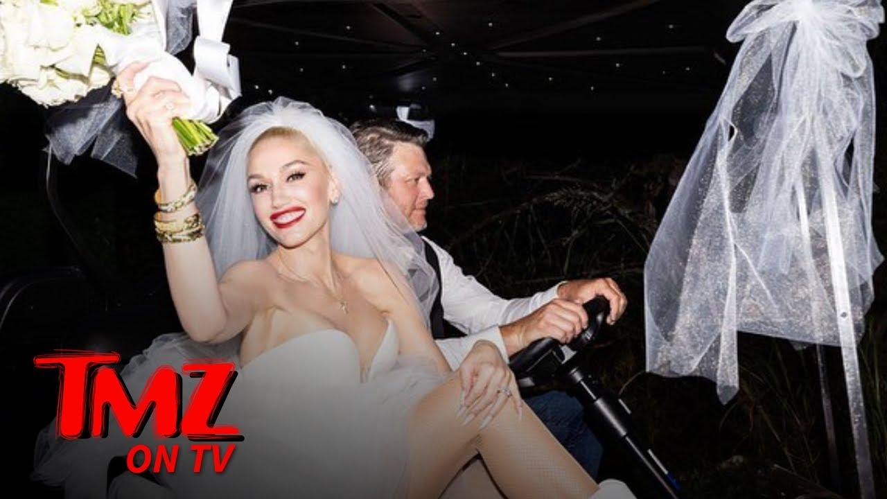 Blake Shelton & Gwen Stefani Got Married! TMZ TV
