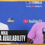 Devin Booker & Mikal Bridges Game 2 Postgame Press Conference   #NBAFinals