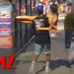 A$AP Rocky Sweeps Rihanna Off Her Feet During Late-Night NYC Date | TMZ
