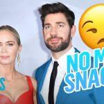 Emily Blunt Cut John Krasinski Off From This One Snack | E! News