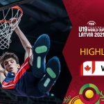Canada - USA | Full Highlights | Semi-Finals - FIBA U19 Basketball World Cup 2021