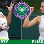 Ashleigh Barty Vs karolina Pliskova - ATP Wimbledon - Live Streaming -Diretta TV Live / 10.07.2021