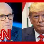 Rudy Giuliani is no longer representing Trump, adviser says