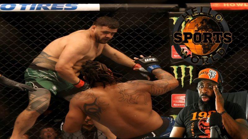 Greg Hardy vs. Tai Tuivasa   KNOCKOUT REACTION