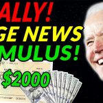 $2000 FOURTH Stimulus Check UPDATE | MONTHLY STIMULUS CHECKS | Student Loan Forgiveness | Daily News