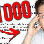 $1000 Per Month For EVERYONE   New Stimulus Explained