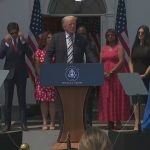 VIDEO NOW: Former President Trump takes questions on a lawsuit against Facebook, Twitter and Google