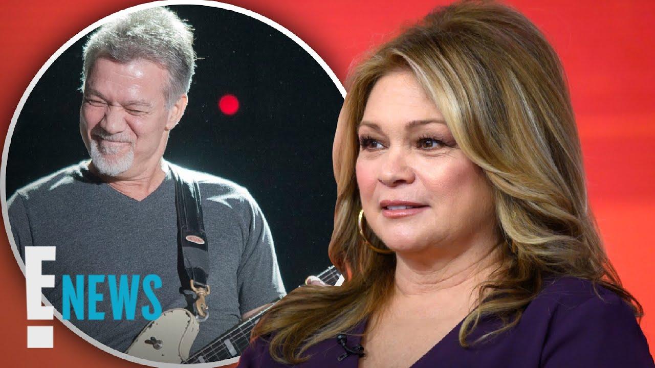 Valerie Bertinelli Gets Emotional About Late Eddie Van Halen | E! News