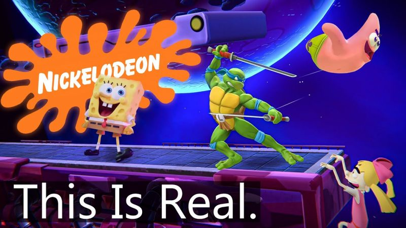 Nickelodeon Just Made A Fighting Game….