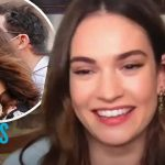 Lily James Makes First TV Appearance Since Dominic West Drama   E! News