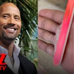 The Rock's Daughter Files Down His Ridiculously Callused Hands | TMZ TV