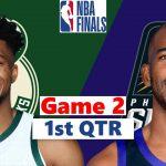 Milwaukee Bucks vs. Phoenix Suns Full Highlights 1st Quarter Game 2 | NBA Finals 2021