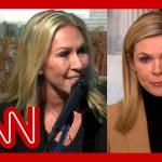 Marjorie Taylor Greene has heated exchange with CNN reporter