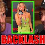 LOGAN PAUL REACTS TO ADDISON RAE UFC 264 BACKLASH (Donald Trump, Fired?)