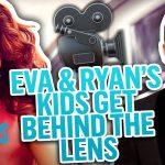 Eva Mendes Shares Rare Video Taken By Her & Ryan Gosling's Kids | E! News