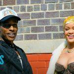 Rihanna and A$AP Rocky Get Cozy While On-Set | E! News