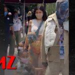 Kylie Jenner & Travis Scott Take Stormi to Disneyland | TMZ