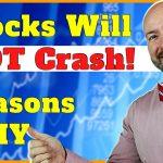 3 Reasons Stocks Will NOT Crash in 2021! #Shorts