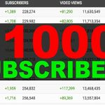 HOW TO GET 1000 SUBSCRIBERS ON YOUTUBE IN 2021